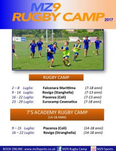 MZ9 Rugby Camp